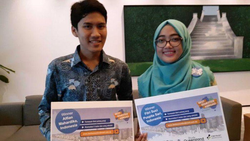 Menangi Kompetisi Video, 2 Pemuda Indonesia Belajar ke Queensland