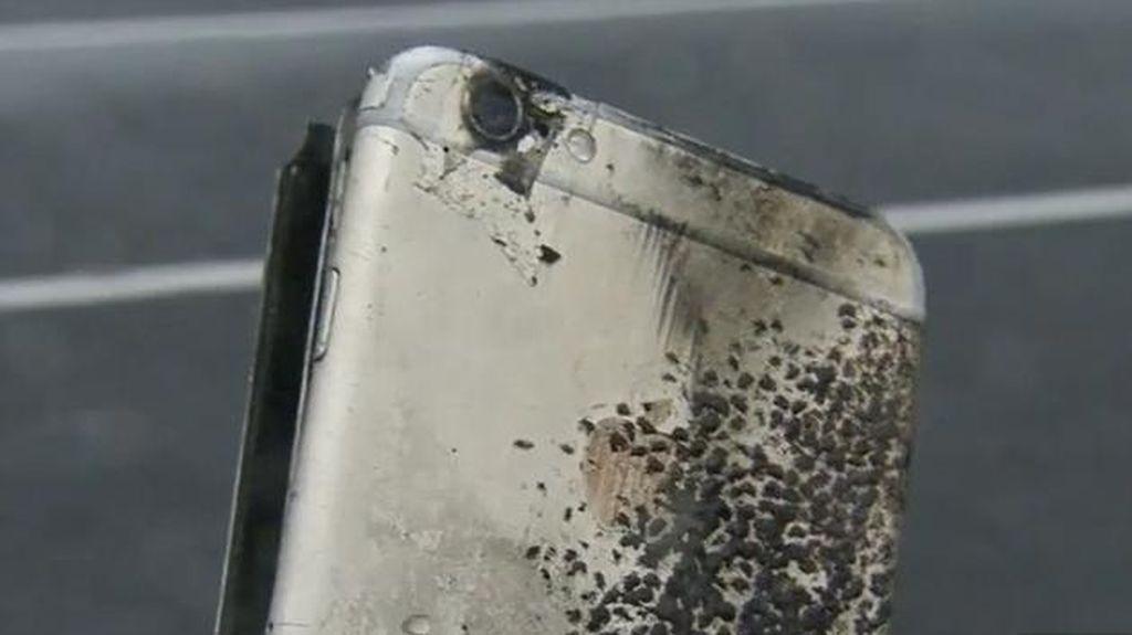 iPhone Terbakar di Kantong Seorang Siswa