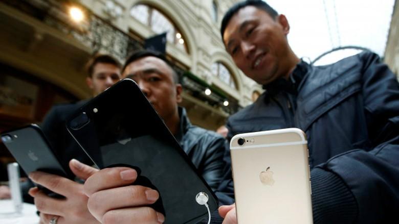 Perusahaan China Ancam Pecat Staf yang Beli iPhone 7