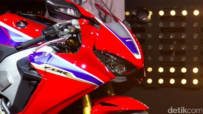 Tampilan Berbeda Honda CBR1000RR Fireblade