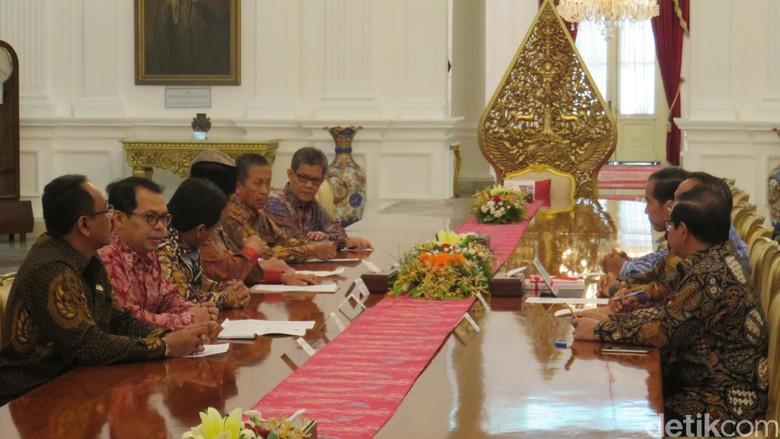 Pimpinan BPK Temui Jokowi, Lapor Potensi Kerugian Negara Rp 6,55 T