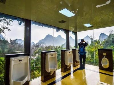 Kawasan Danau Toba Bakal Punya Toilet Berkelas Bintang Lima