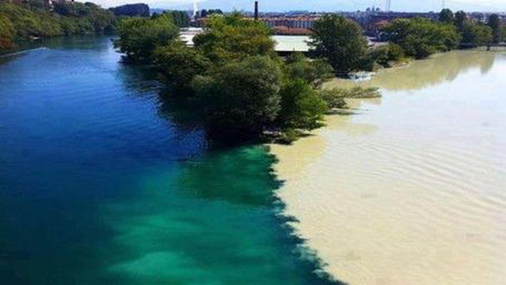 Sungai-sungai Ajaib di Dunia yang Airnya Tidak Menyatu