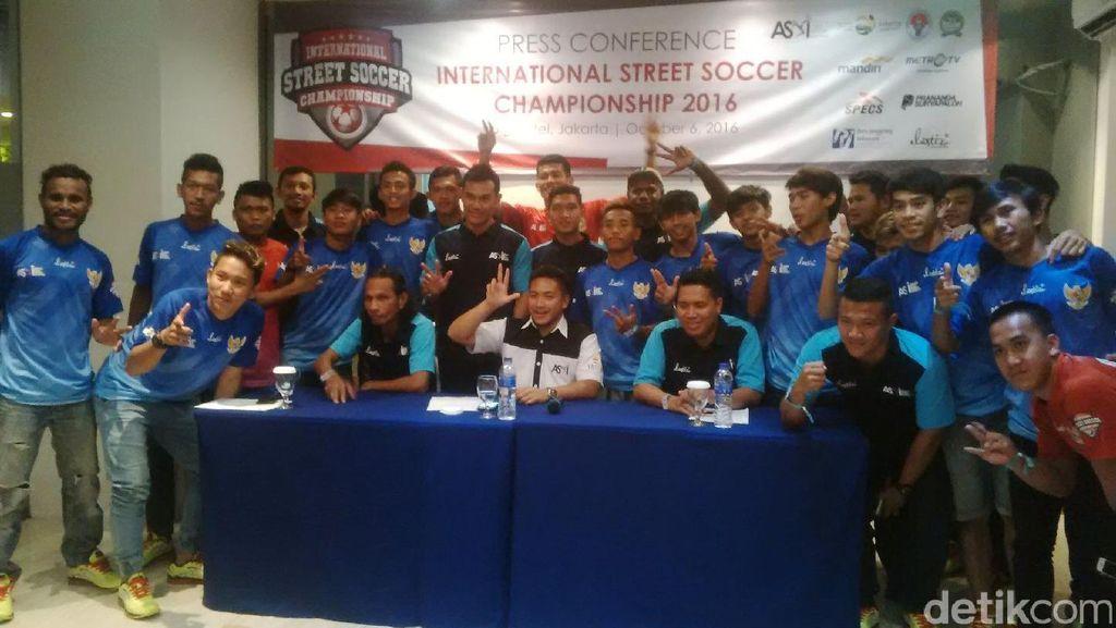 Timnas Street Soccer Targetkan Juara di TAFISA