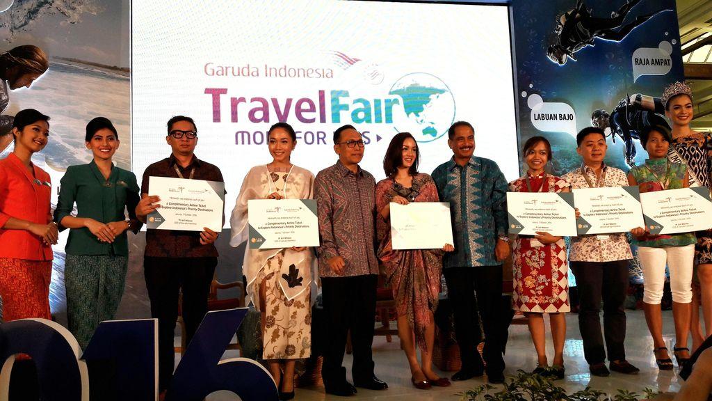 Promosi Pariwisata Indonesia, Garuda Terbangkan Seleb Traveler ke 8 Destinasi