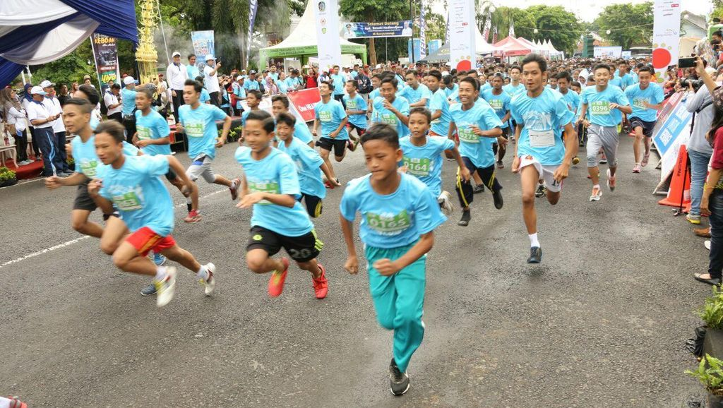 Banyuwangi International Run 2016 Memang Bikin Heboh!