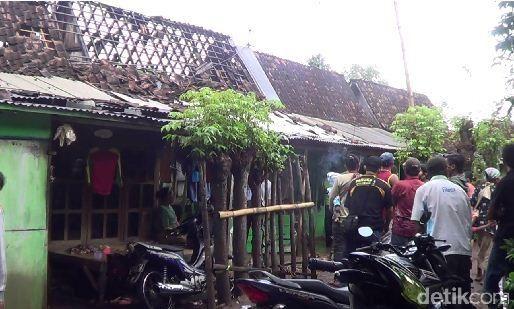 Lokasi ledakan (Foto: M Rofiq/detikcom)