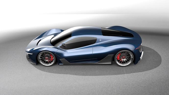 Cantik dan Garangnya Maserati MC-63 Hypercar Concept