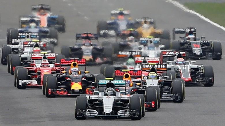 Kalender F1 2018 Dirilis