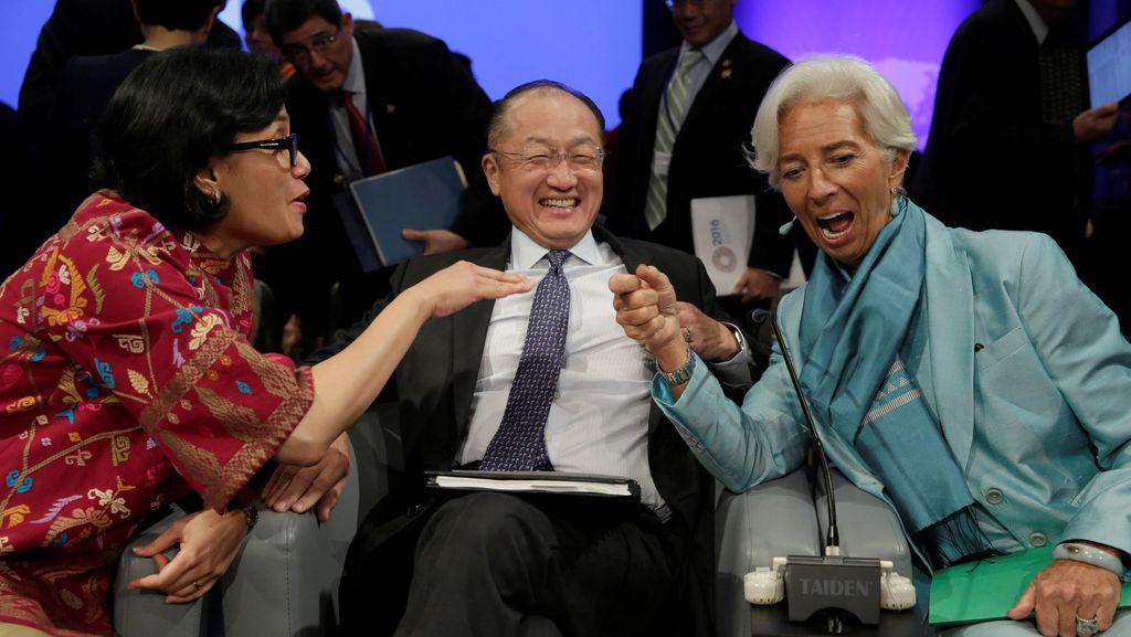 Para Menteri Datangi Kantor Luhut, Bahas Persiapan Acara IMF-Bank Dunia