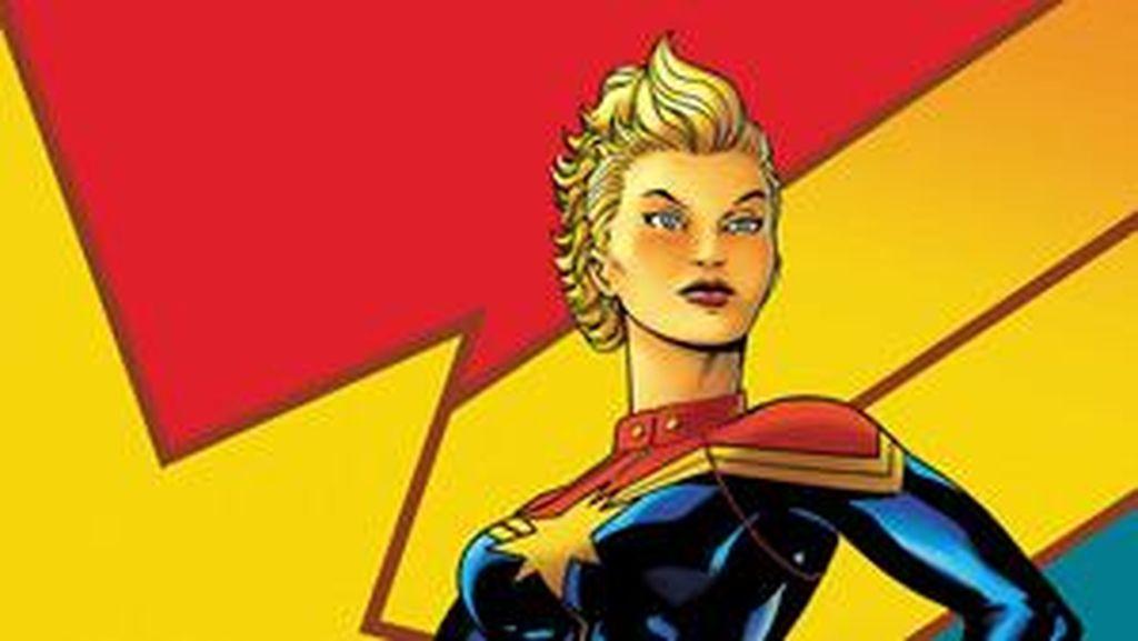Marvel Bocorkan Tokoh Baru Bintangi Captain Marvel