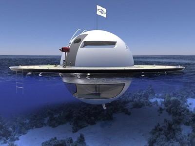 Di Masa Depan, Kapal Yacht Bentuknya Seperti UFO