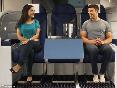 Di Masa Depan, Kursi Pesawat Bisa Didesain Seperti Ini