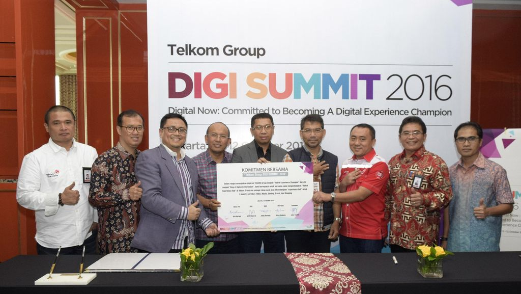 Telkom Bangun 7 Pilar Kerajaan Digital