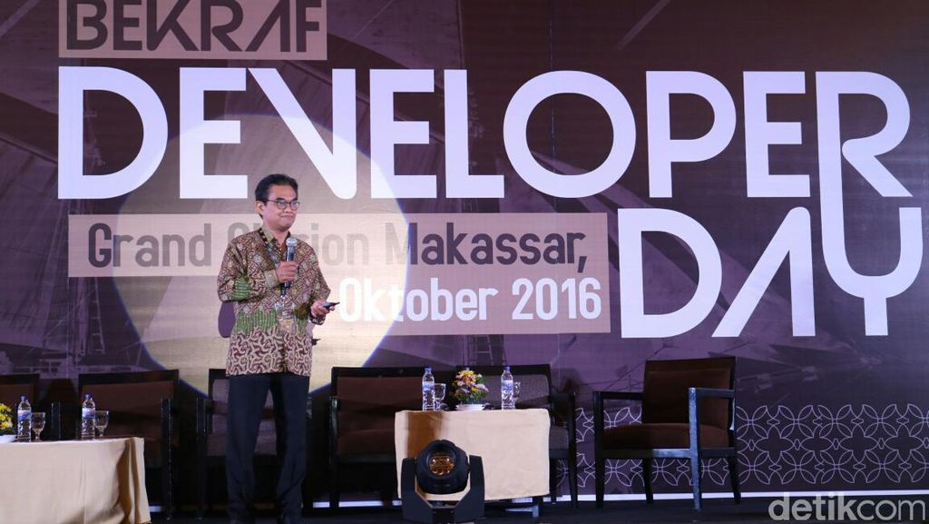 Seribu Developer Ramaikan Bekraf Developer Day di Makassar
