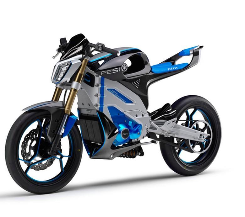 Yamaha Garap Motor Hybrid, Roda Depannya Digerakkan Motor Listrik