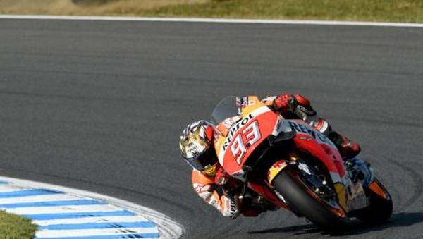 Marquez Duga Rossi Merasa Gugup pada Awal Balapan di Motegi