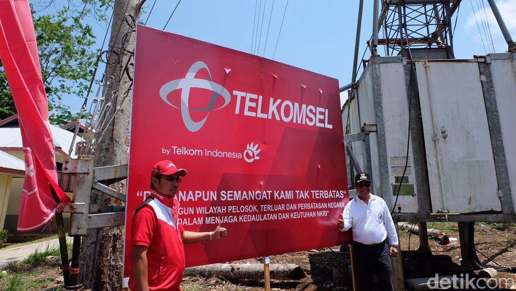 Telkomsel Pamer 4G di Pulau Nusa Laut
