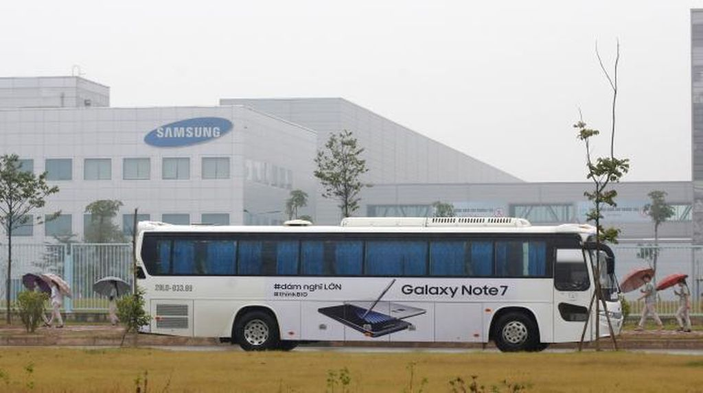 Bobol! Pabrik Samsung Kemalingan Ribuan Ponsel