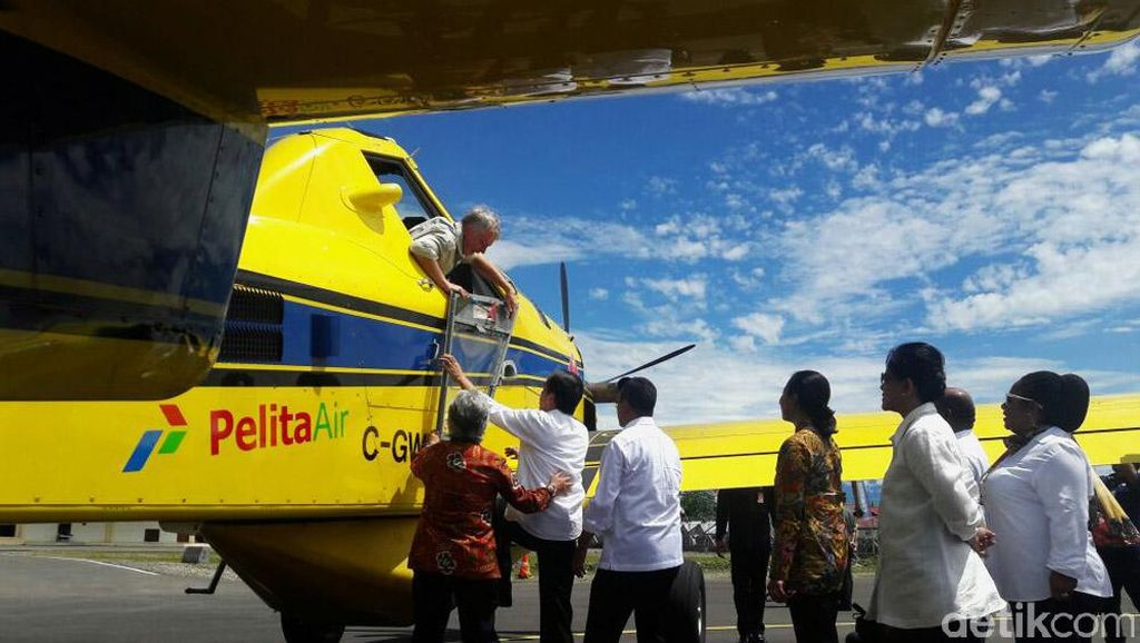 Pertamina Sewa Pilot Asing untuk Kirim BBM ke Pedalaman Papua
