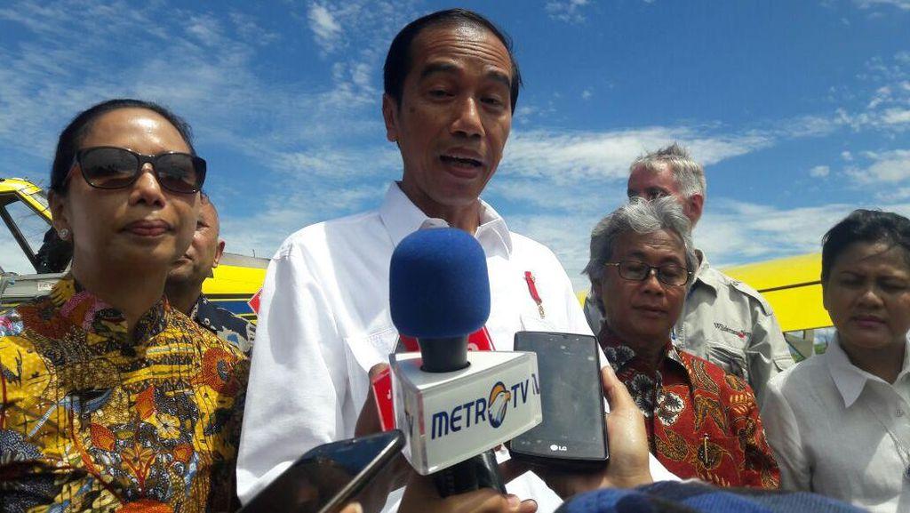 Demi Harga BBM Papua Sama dengan di Jawa, Jokowi: Jangan Hitung Untung Rugi