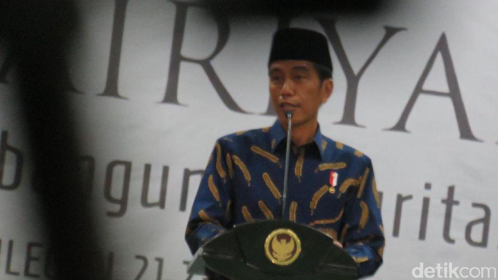 Jokowi Sempat Melayat Ayah dari Thohir Bersaudara Pagi Tadi
