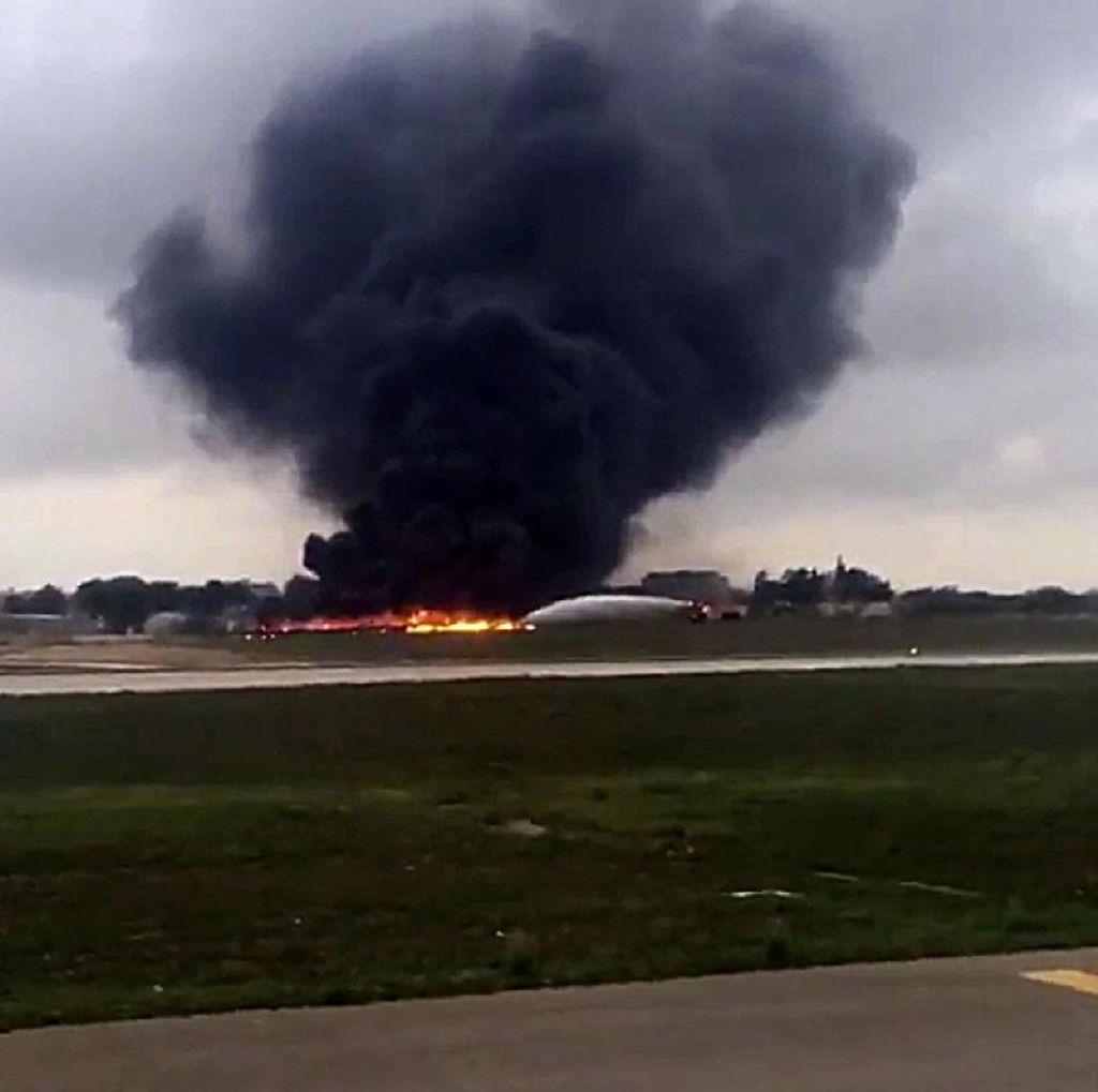 Pesawat Militer Tabrak Gunung di Kuba, 8 Penumpang Tewas