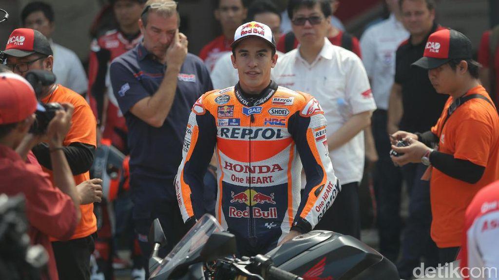 Performa Marc Marquez Pengaruhi Penjualan Honda