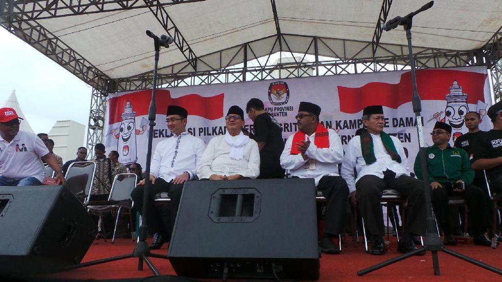 Hasil Pleno di Kabupaten Tangerang, Rano-Embay Menang