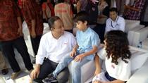 Anies Baswedan Ajak 2 Anaknya Ikut Deklarasi Kampanye Damai di Monas