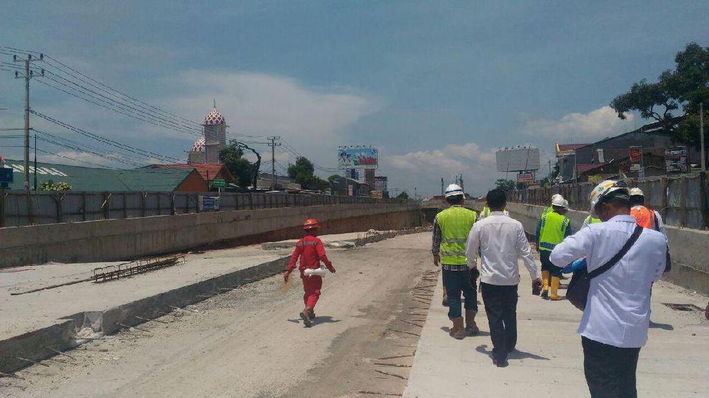 Telan Rp 169 M, Proyek Underpass Simpang Mandai Ditarget Selesai 2017