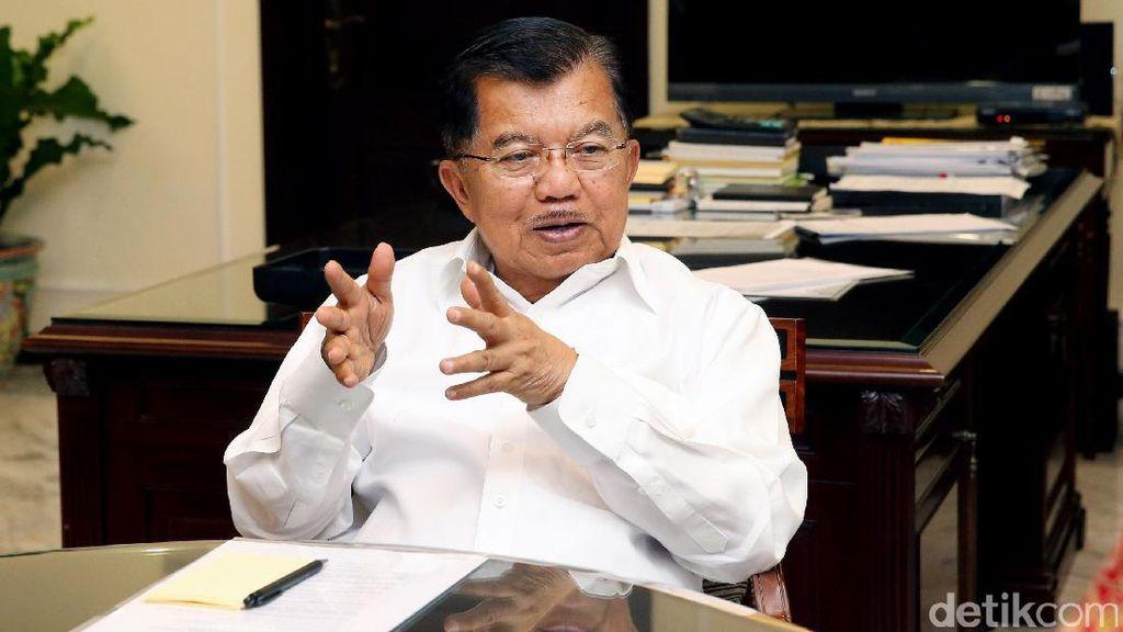 Panggil Menteri, JK Bahas Gugatan Perusahaan Tambang India Rp 7,7 T
