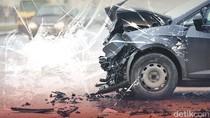 6 Mobil Kecelakaan Beruntun di Tol Slipi Arah Pluit