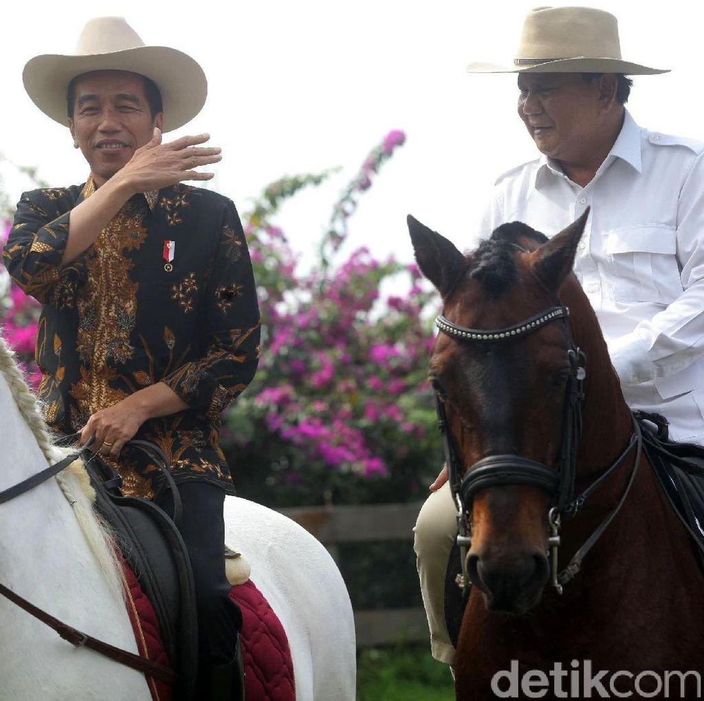 Jokowi-Prabowo Kantongi Tiket Pilpres 2019, Bagaimana dengan PD?