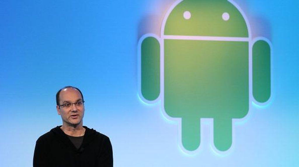 Bapak Android Pamer Ponsel Mirip Mi Mix