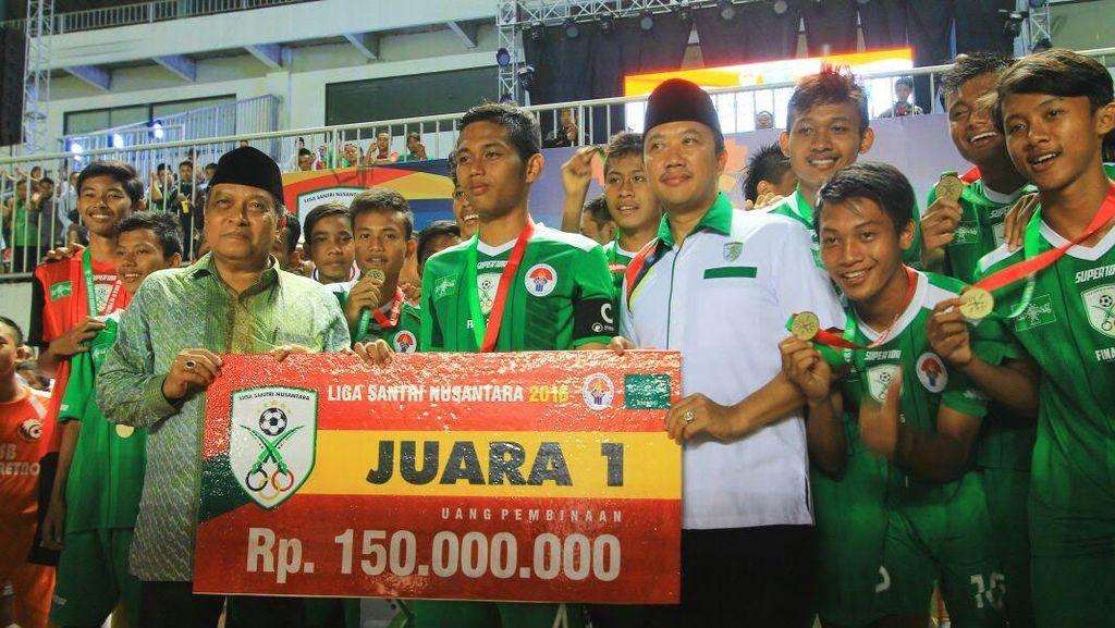 PP Nur Iman Juara, Liga Santri Nusantara 2016 Berakhir