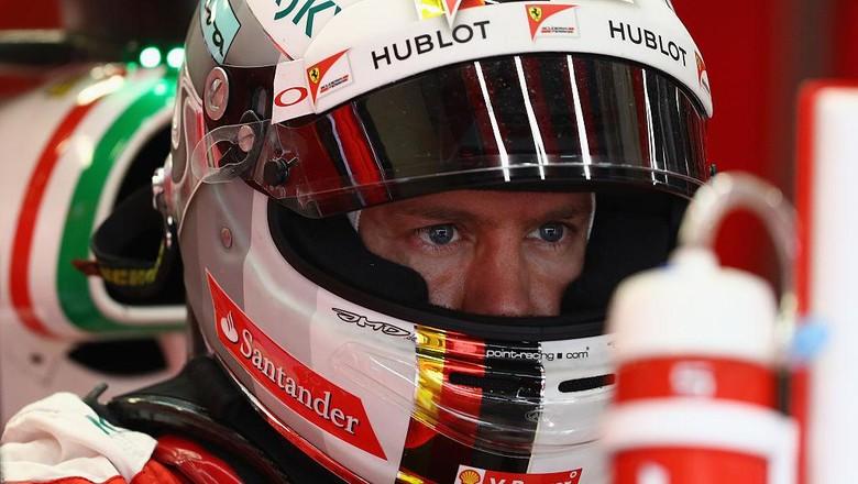 Vettel Masih Percaya Bisa Jadi Juara Dunia bersama Ferrari