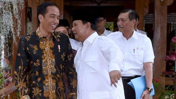 Prabowo Sebut PT 20% Lelucon Politik, Jokowi: Kenapa Dulu Tak Ramai