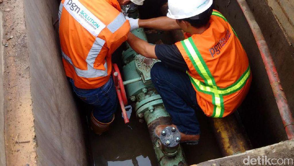 PGN Relokasi Pipa Gas untuk Dukung LRT Palembang