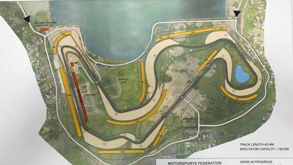 Pembangunan Sirkuit Lido Tak Pengaruhi MotoGP 2018 di Palembang