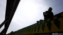 Jalan Layang Ciledug-Tendean Dipercantik Dengan Gigi Balang Khas Betawi