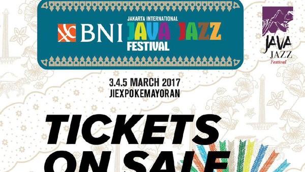 Sudah Bisa Dipesan, Berapa Harga Tiket Early Bird Java Jazz Festival 2017?