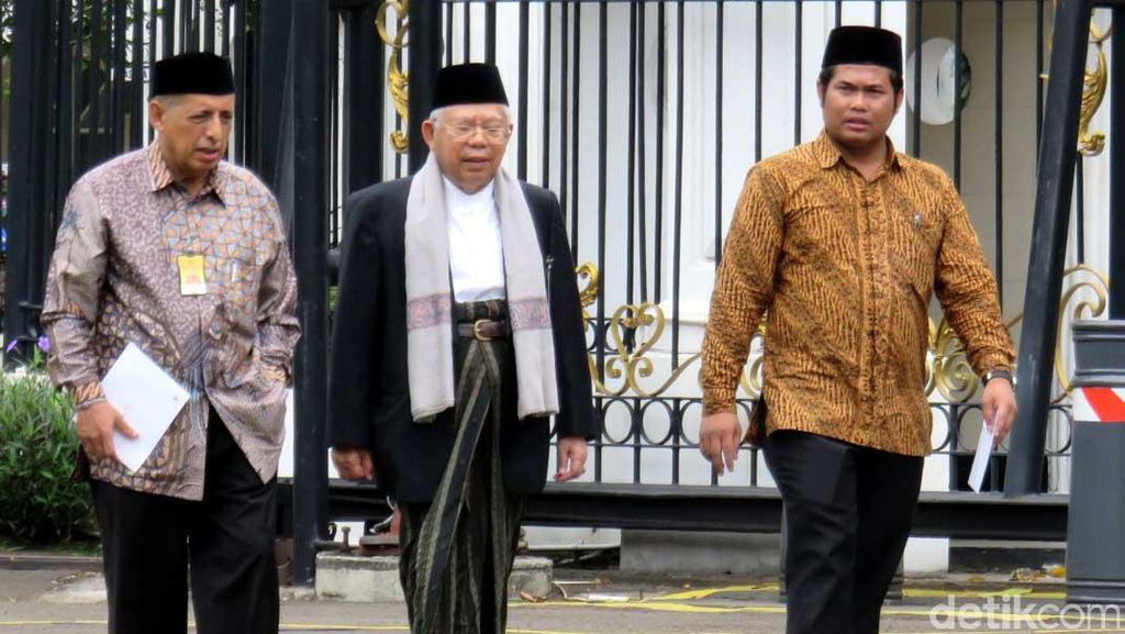 Presiden Jokowi dan KH Maruf Amin Gelar Pertemuan Tertutup