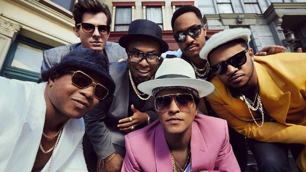 Empat Kali! Uptown Funk Mark Ronson dan Bruno Mars Dituding Jiplakan