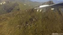 Diduga Tabrak Gunung, ini Penampakan Puing Pesawat yang Hilang di Ilaga Papua