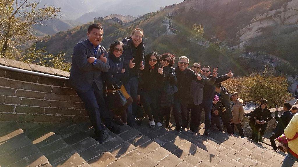 Tembok Besar China Ternyata Bisa Sepi Juga