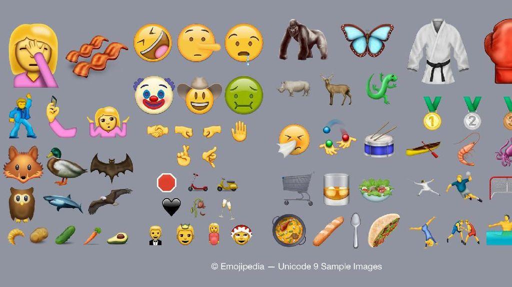 iOS 10.2 Bawa Puluhan Emoji Imut Baru