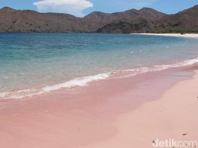 Pantai-pantai Ajaib yang Punya Pasir Berwarna Pink