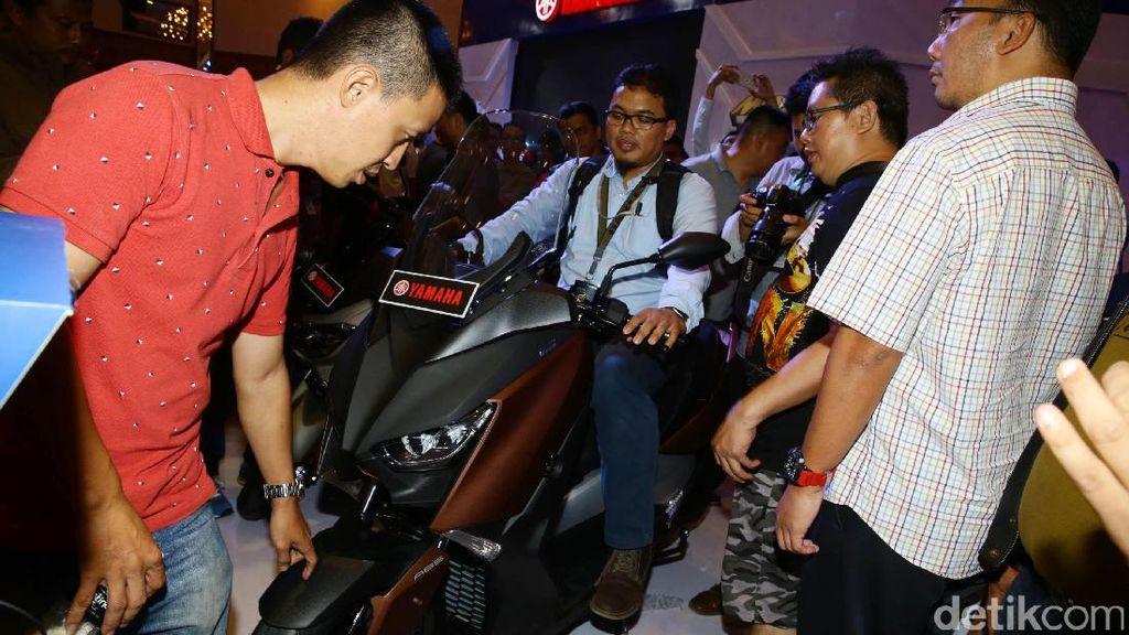 Yamaha Mulai Buka Inden Online Skutik Gede XMAX