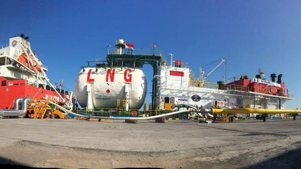 RI Setop Ekspor Gas ke Jepang dan Korsel 2018